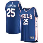 Fanatics Branded Ben Simmons Philadelphia 76ers Youth Royal Fast Break Replica Jersey - Icon Edition