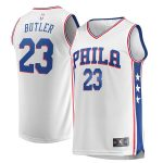 Fanatics Branded Jimmy Butler Philadelphia 76ers White Fast Break Replica Jersey - Association Edition