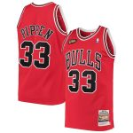 Mitchell & Ness Scottie Pippen Chicago Bulls Red 1997 Hardwood Classics Authentic Jersey