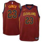 Nike LeBron James Cleveland Cavaliers Youth Maroon Swingman Jersey - Icon Edition
